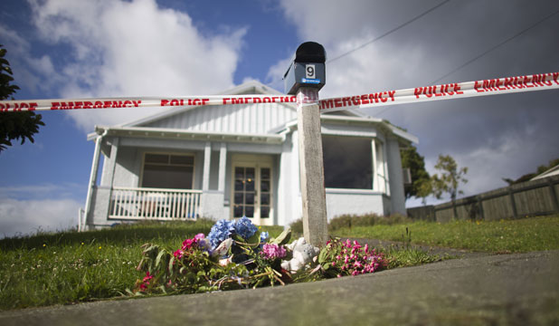 TRAGEDY SCENE: The house on Kiwi St in Dunedin where Edward Livingstone killed his two children.
