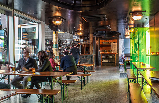 HOT SPOT: Strange & Co is the bar that, along with the restaurant Orleans and the tiny burger bar Lower 9th Diner, forms the trinity of the Strange's Lane complex.
