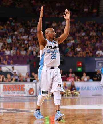 WISE WORDS: NZ Breakers legend CJ Bruton, who is back in town to have his jersey retired at the club's home opener, thinks this year's team has championship pedigree.