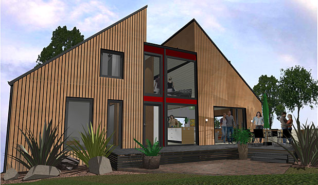 Awe Inspiring Prefabs Add Value To Timber Stuff Co Nz Interior Design Ideas Gentotryabchikinfo