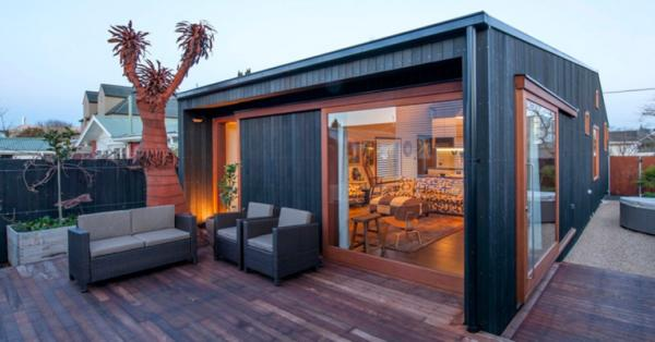 Portable house built to withstand quakes - Architect designed modular homes nz ...