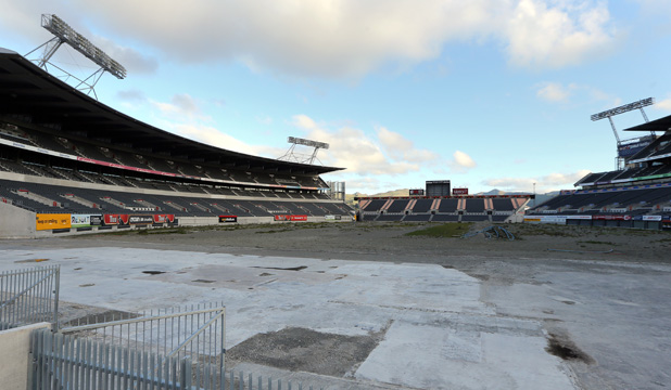 MEMORIES: Christchurch's once proud Lancaster Park is deteriorating by the day.