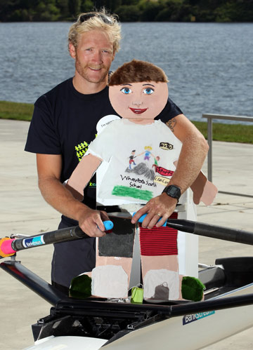 ERIC MURRAY: The Olympic rower could be in for a paddling.