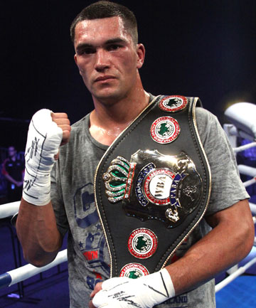 PACKING A PUNCH: The controversial withdrawal of Australian Daniel Baff, just over two weeks out from Sky Arena's Super8 fight night, has opened the door for David Aloua, pictured, to fight Anthony McCracken again.