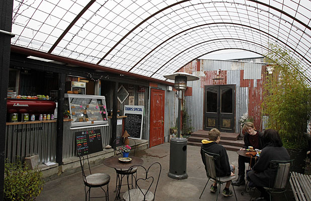 NO MEAT: The Shroom Room in Lyttelton is a haven for vegetarian and vegan options.