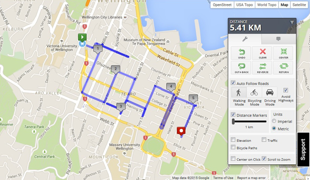 Running Map Competition Word On The Street Stuffconz - How to map out a run