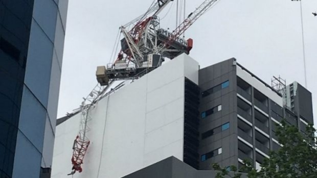 Construction Workers Hospitalised After Sydney Crane Collapse