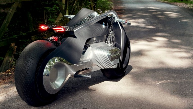 bmw's self-balancing motorcycle | stuff.co.nz