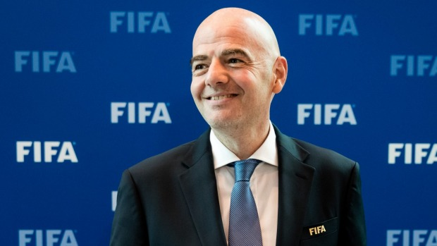 Infantino says 32, 40 and 48-team World Cups on the table
