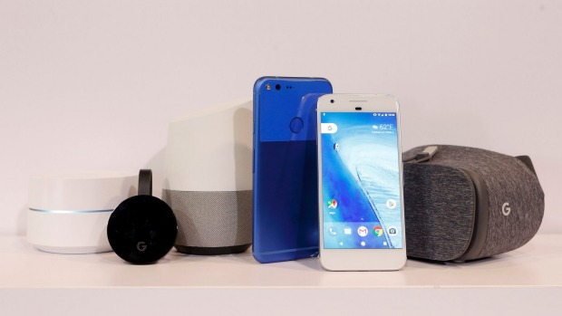 Google shares at record high thanks to Pixel phone reviews