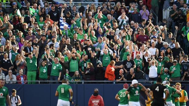Ireland win has dispelled All Blacks 'mystique' - Devin Toner