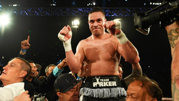 Parker beats Ruiz to win WBO heavyweight title