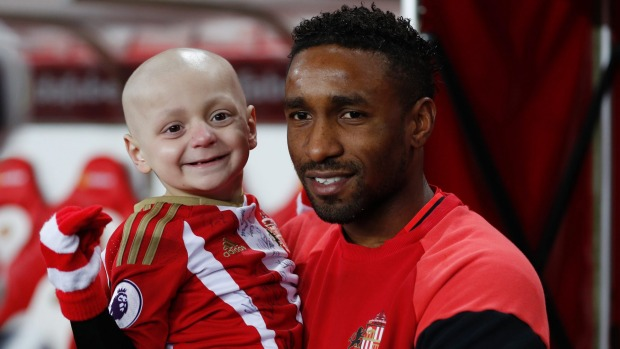 Cancer fighter, five, takes penalties ahead of Sunderland v Chelsea