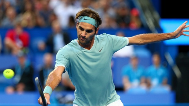 Federer makes short work of Gasquet at Hopman Cup