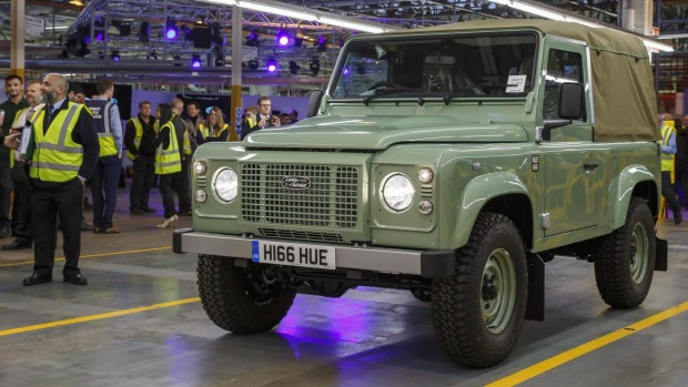 Chemical Giant Plans To Bring Spirit Of Iconic Defender Back To Life