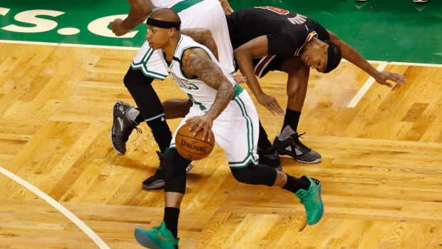 Death of sister has Celtics star Isaiah Thomas in tears as NBA playoffs start