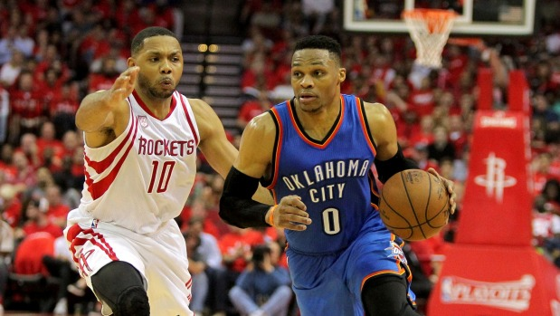 Houston survives 51-point production of Westbrook