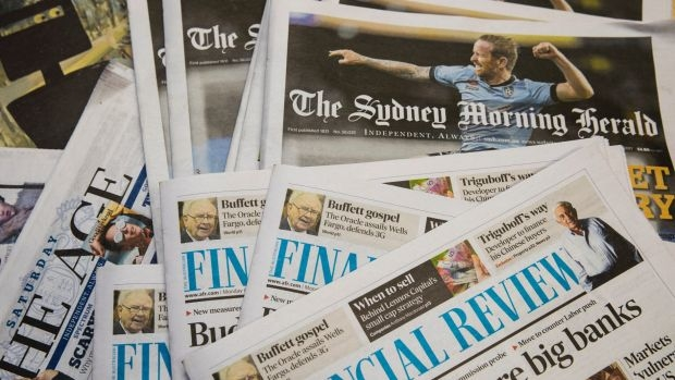 Australia's Fairfax Media reviews takeover offer