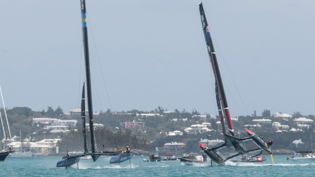 Sailing - Ainslie loses to France in setback to America's Cup hopes