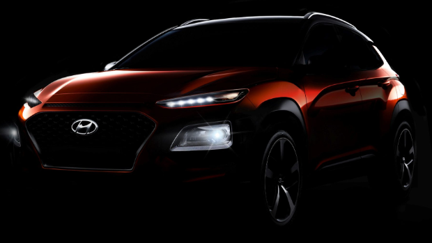 Hyundai Kona SUV Teased Before The World Premiere