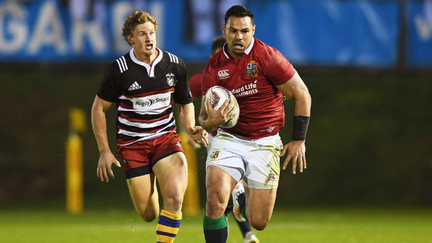 Bryn Gatland tops father Warren at Lions' opening match