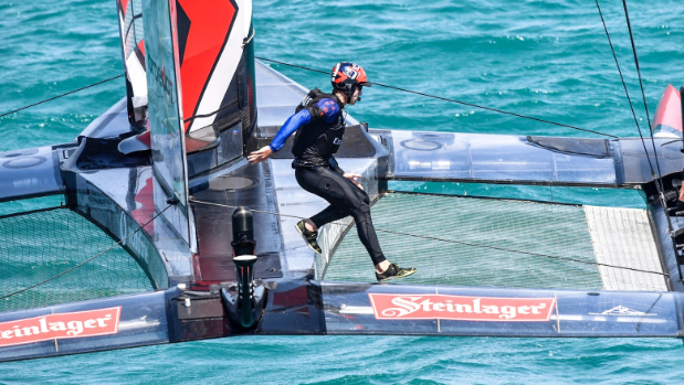 Team NZ working to fix capsize damage
