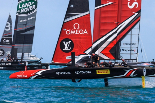 Yachting: New Zealand dispatch Britain to reach America's Cup challenger final