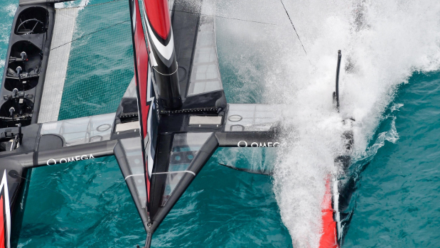 Artemis man overboard gives Team NZ the lead