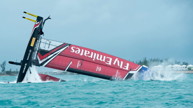 Sailing-America's Cup semi-finals postponed due to high winds