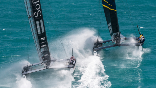 Land Rover Bar Move Closer To America's Cup Final