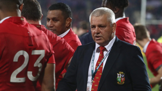 Warren Gatland confident in adaptable British and Irish Lions scrum