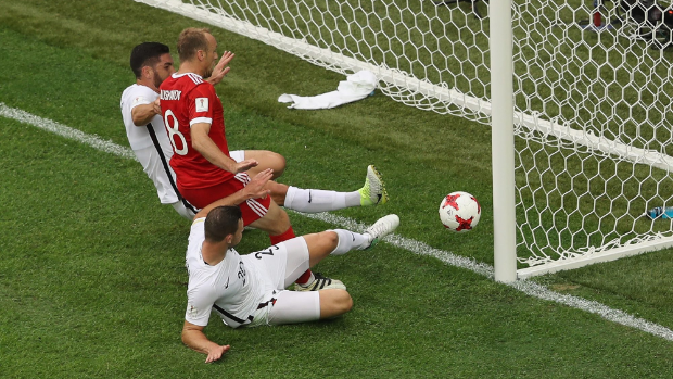Russia cruise past New Zealand in Confederations Cup
