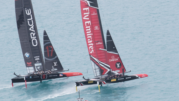 Spithill skippers Oracle to 1st win in America's Cup
