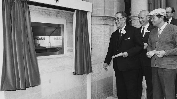 ATM celebrates 50 years of dispensing cash