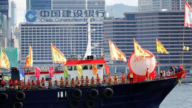HONG KONG Chinese warship breaches Taiwan's defence zone