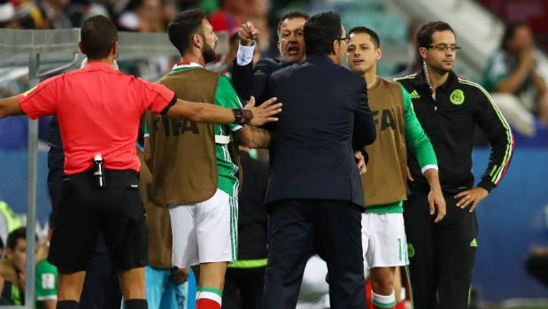 Federation Internationale de Football Association suspends Mexico manager Juan Carlos Osorio six matches