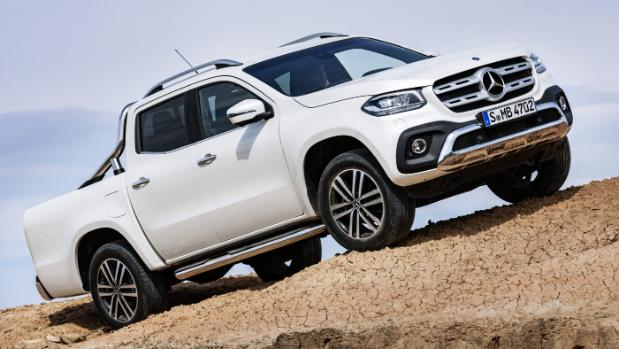Mercedes-Benz X-Class Pickup Unveiled