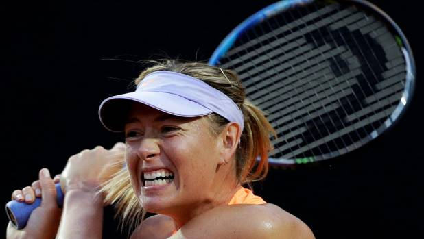 Sharapova: her love for tennis, strengthened by its suspension