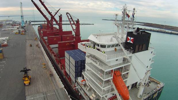 Drunken sailor suspended in New Zealand port