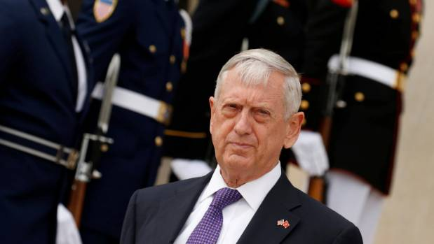 Mattis warns North Korea not to invite 'destruction'