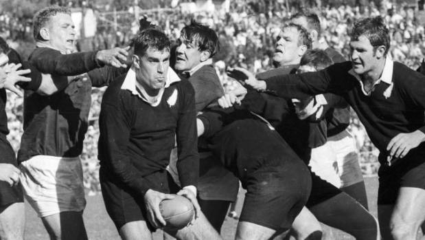 'Pinetree' felled. All Blacks great Meads dies aged 81