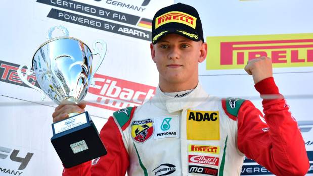 Formula One: Schumacher's son to drive demo laps at Belgian Grand Prix