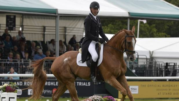 Handout       Andrew Nicholson is determined to become the first Kiwi and fifth rider to win Badminton and Burghley in the same year