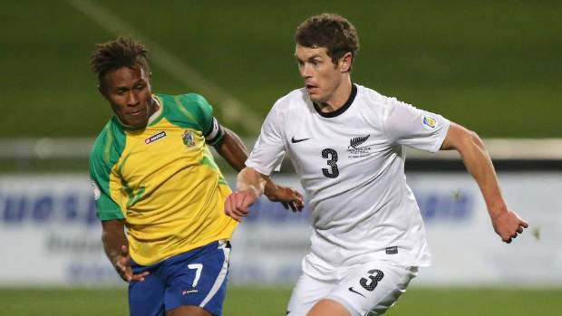 New Zealand put up six in first leg of Oceania qualifying final