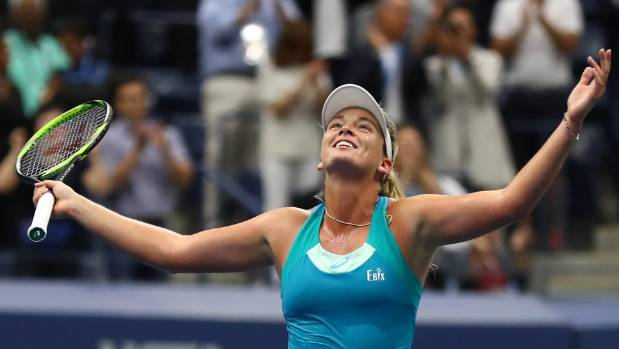 Madison Keys defeats Kaia Kanepi, sets up all-American US Open semifinals