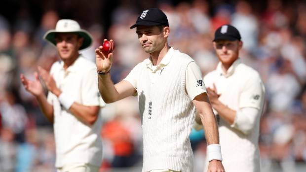 James Anderson evergreen as England clinch series against West Indies