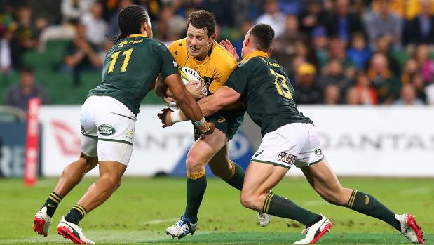 All Blacks thrash Springboks with record eight-try hiding