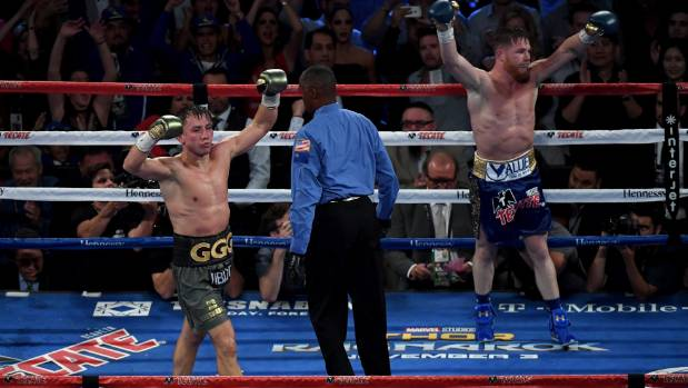 Alvarez, Golovkin seek their places in boxing history