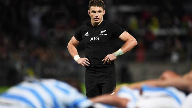 Lima Sopoaga to miss All Blacks' Argentina trip, Beauden Barrett recalled