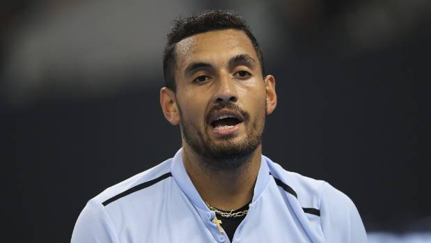 Nick Kyrgios punished for unsporting conduct in Shanghai Masters